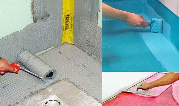 Нужна ли гидроизоляция по плитку на полу в туалете