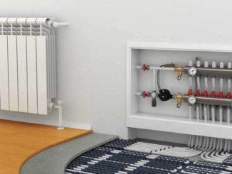 Теплый пол от батареи в частном доме: как сделать чтобы все работало